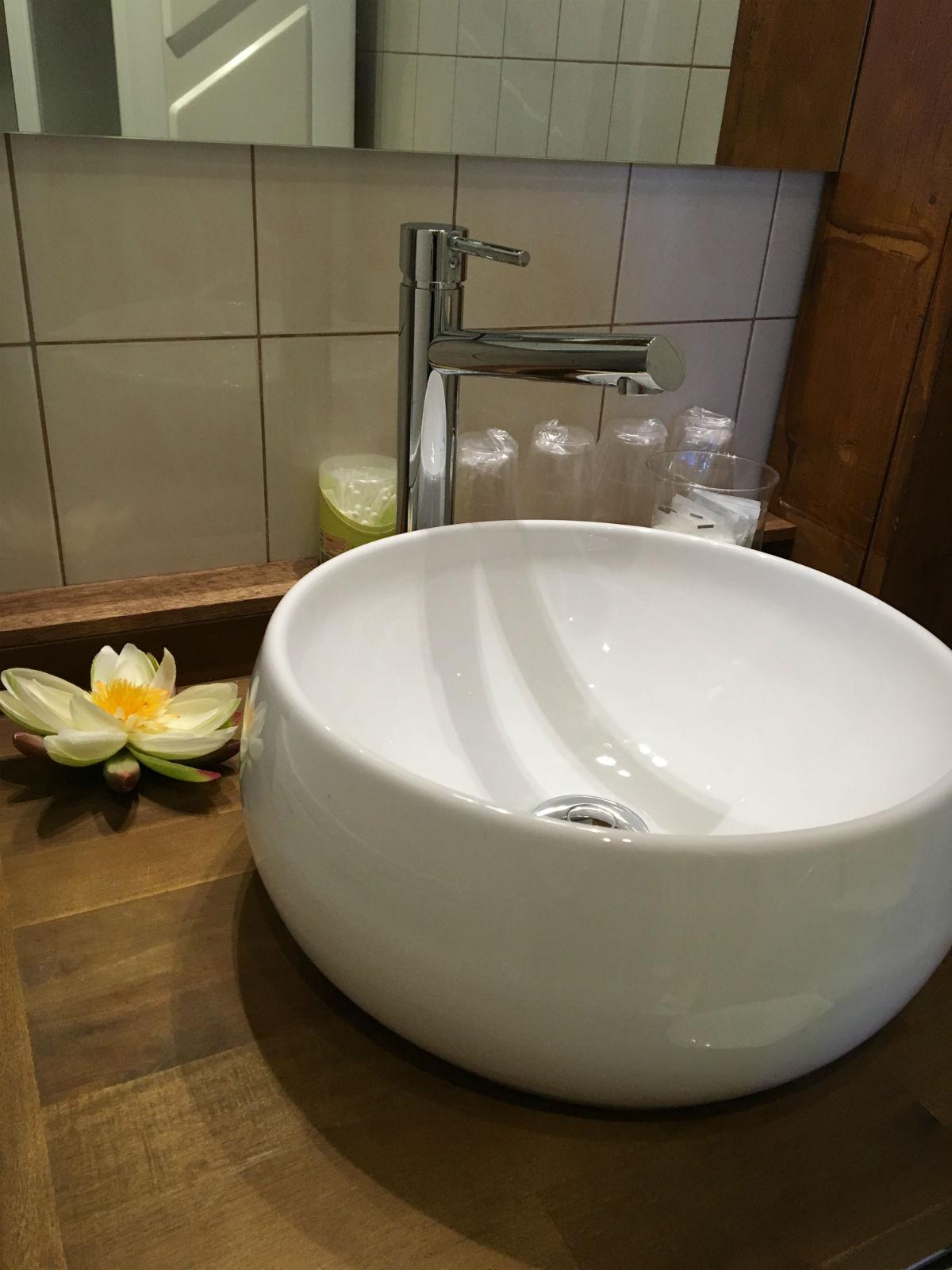 Gîte montreuil sur mer salle de douche